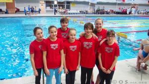 D-Jugend mit Trainerinnen Jill Becker und Andrea Rente - DMSJ-Bundesfinale 2015