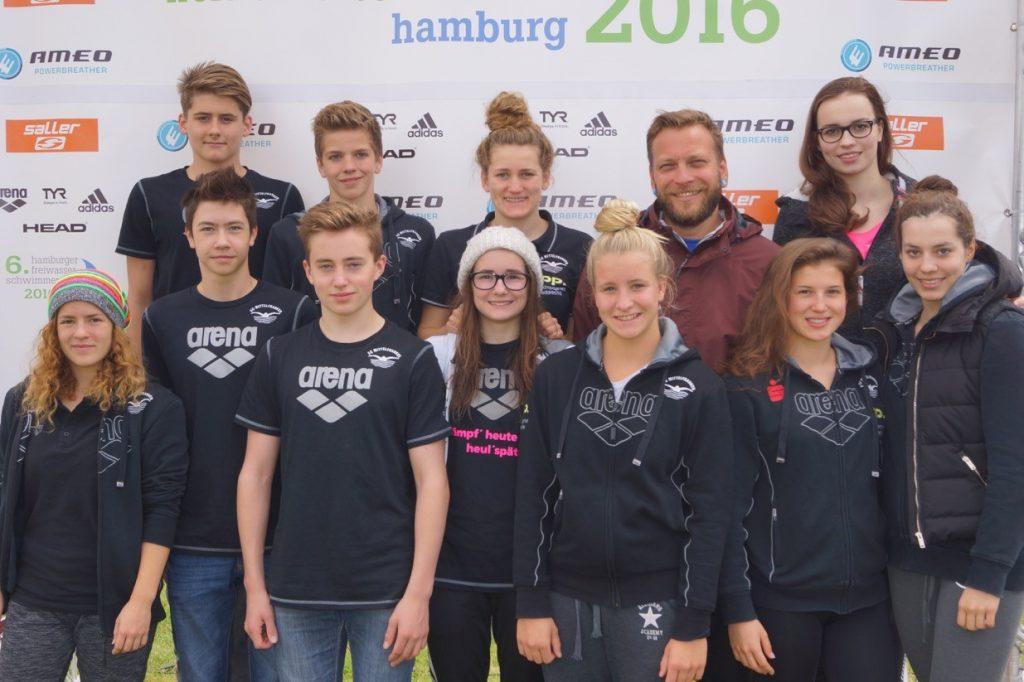 Gruppenbild Dt. Freiwasser 2016