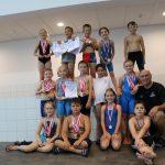 Heiners Team beim Nürnberger Kinderschwimmen