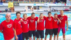 B-Jugend mit Trainer Wolfgang Göttler DMSJ-Bundesfinale 2015